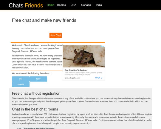 ChatsFriends Logo