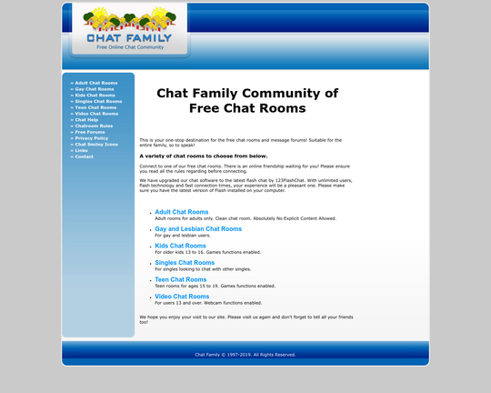 Chat Family Logo